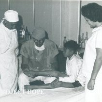 Image of Unknown doctor on the SS HOPE in Indonesia 1960.