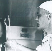 Image of Unknown doctor while the SS HOPE was in South Vietnam 1960.