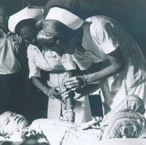 Image of Unknown nurse while the SS HOPE was in South Vietnam 1960.
