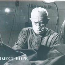 Image of Unknown doctor  while the SS HOPE was in South Vietnam 1960