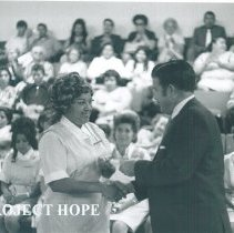 Image of Jose Lozano Gonzales County Health Dept administrator and HOPE trained assi