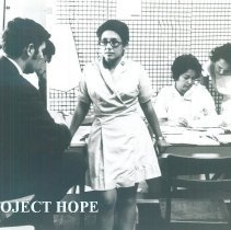 Image of Bill Walsh, Jr, Project HOPE Admnistrator in Laredo, Texas 1969.