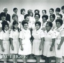 Image of Class of Project HOPE Health Assistants at Laredo Junior College 1969.