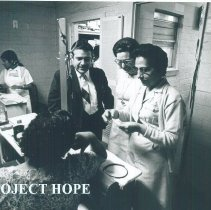 Image of HOPE Health Assistant Trainee in the Laredo County Health Dept 1969.