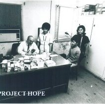 Image of Director of Laredo County Health Dept in Laredo Texas 1969.