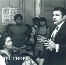 Image of Jose Gonzalez at Laredo Health Dept with Project HOPE in 1969.