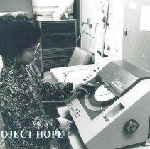 Image of Project HOPE Helen Tien in El Paso, Texas 1970.