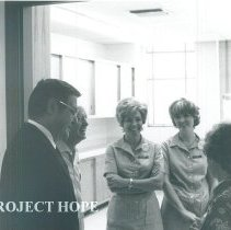 Image of William B Walsh Project HOPE President at El Paso Community College 1970