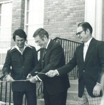 Image of William B Walsh opening of Allied Health Center of EPCC with HOPE 1970.