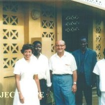 Image of HOPE nurse, Joan Brown and Harry Nagel with Counterparts in Guines 1964.