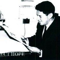 Image of Enrique Leon from University of Cuenca School of Medican in Ecuador 1965.