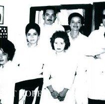 Image of HOPE Med Tech Martha Henderek with students in Cuenca, Educador 1965.