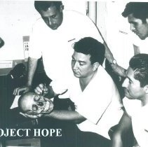 Image of Instruction on the SS HOPE in Guayaquil, Ecuador 1963.