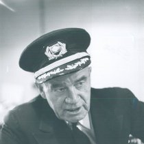 Image of Captian Martenson of the SS HOPE in Guayaquil, Ecuador 1963.