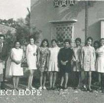 Image of Olga Verduzco with Project HOPE in Ecuador.