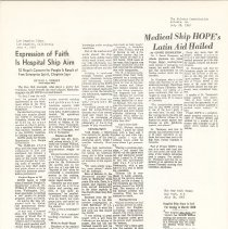 Image of Rev. Bill Abersold;  Dr. J. Daniel Thompson