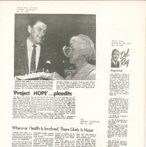 Image of Ronald Reagan, Margaret Storkan, Helen Mahon
