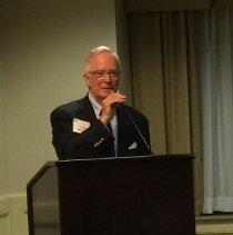 Image of John Wilhelm, president of HOPE Alumni Association at 2016 reunion