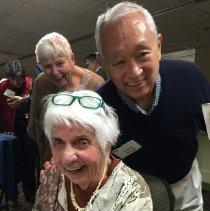 Image of Carol Fredriksen, Earsie Hinoki and Dorothy Aeschleman 2016 reunion