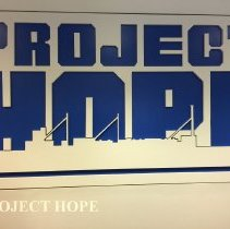Image of Project HOPE Logo seen at the Alumni reunion in Washington DC in 2016.