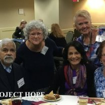 Image of Mohandes Bhat, Faith Garber, Chitra Bhat, Sharon Redding and Jane Nichols