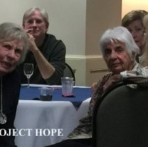 Image of Joan Quillin, Shiela Cardwell, Richard Grisard and Dorothy Aeschliman 2016