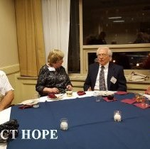 Image of Harald & Betty Wilhelmsen and Buddy and Marilyn Guynn 2016 reunion in DC
