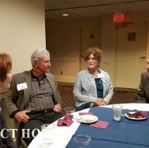Image of Lois Hofstra, Earl Rogers, Faye Pyles and Bill Strein at 2016 reunion in DC