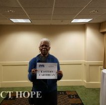 Image of Agatha Lowe at the HOPE Alumni reunion in 2016 in Washington DC
