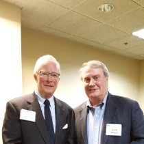 Image of John Wilhelm and John Walsh at 2016 HOPE Alumni reunion in Washington DC