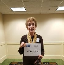 Image of Morocco Alumni Cecile Fontaine at the 2016 Alumni reunion in Washington DC