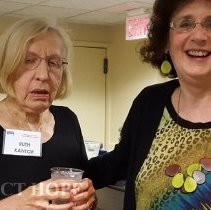 Image of Ruth Kantor and Ruth Howard at the 2016 HOPE reunion in Washington DC