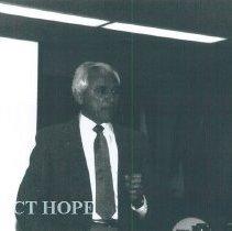 Image of Jose Carneiro at the 1987 Alumni Board Meeting