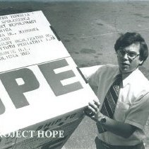 Image of Project HOPE carton shipped to Poland.