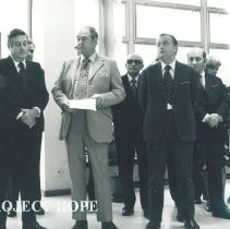 Image of Dr William B Walsh with Arturo Constantino Minister of Health Poland.