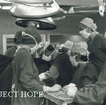 Image of Using the heart-lung machine in Poland.