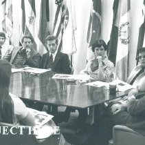 Image of Dr William B Walsh with Poland Orientation group.