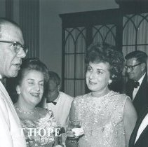 Image of HOPE Ball 1965 Mr & Mrs Bentley and Mr & Mrs Gershenson.