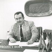 Image of Don Weaver at his desk