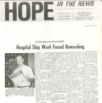 Image of Newsletter - HOPE in the News - October 14, 1966