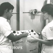 Image of HOPE Physical Therapist ? with counterpart on SS HOPE in Nicaragua