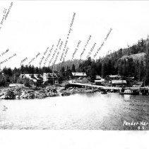 Image of Irvine's Landing 1939 identified