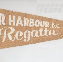 Image of Pender Harbour Regatta pennant 1952