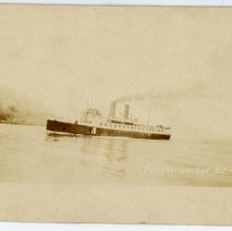 Image of A Union Steamship at Pender Harbour