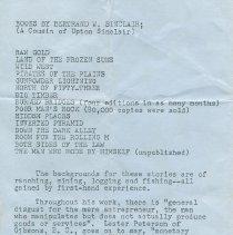 Image of Tribute to Bertrand Sinclair p4
