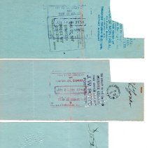 Image of W. Pieper cancelled cheques p1 back