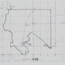 Image of District Lot 1543 hand drawn map 2