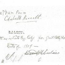Image of Copy of Hllow Fiddelback letter p6