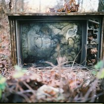 Image of Ron Flory, Detritus Still Life - Throw Away Your Television