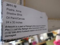 Image of 2011.10 Label on Verso